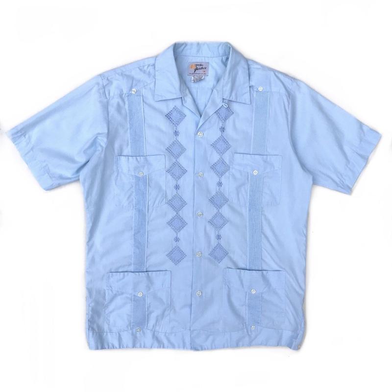 S/S Cuba Shirt / Blue / Used