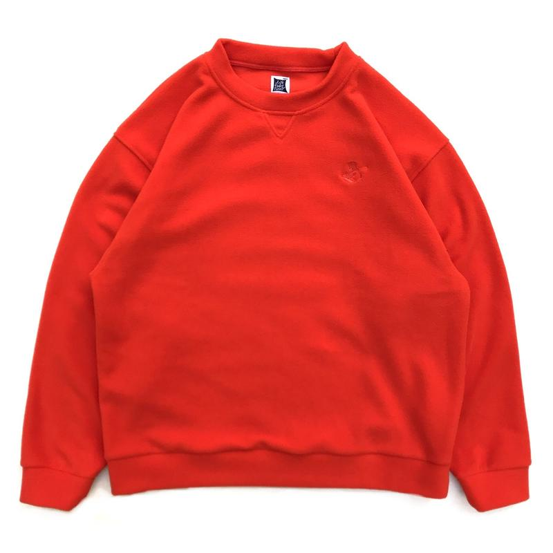 RWCHE / DUDE FLEECE SWEAT / ORANGE