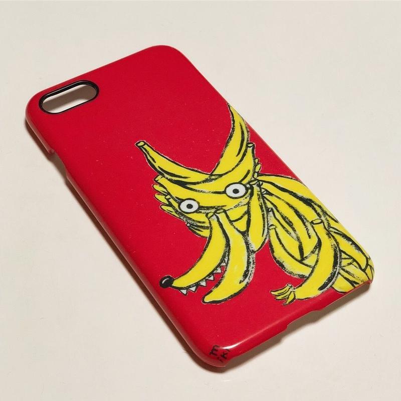 Iphoneケース(オオカミバナナ)