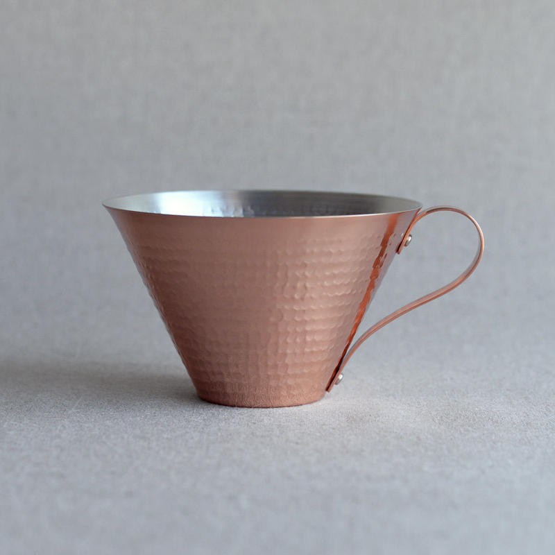 R&W|Ice Coffee Cup [鎚目仕上げ]