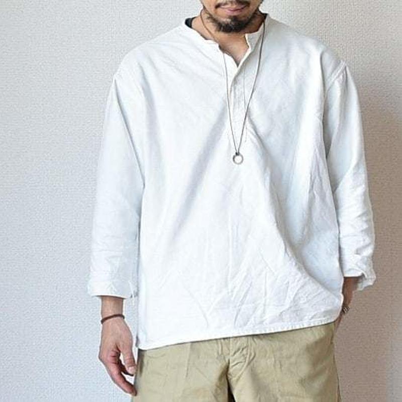 【完売御礼】 MILITARY DEAD STOCK  ロシア軍スリーピングシャツ ホワイト