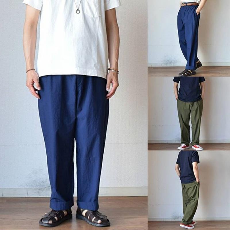 【ラスト1点です!】EEL Products SUN PANTS イール プロダクツサンパンツ ブルー/オリーブ