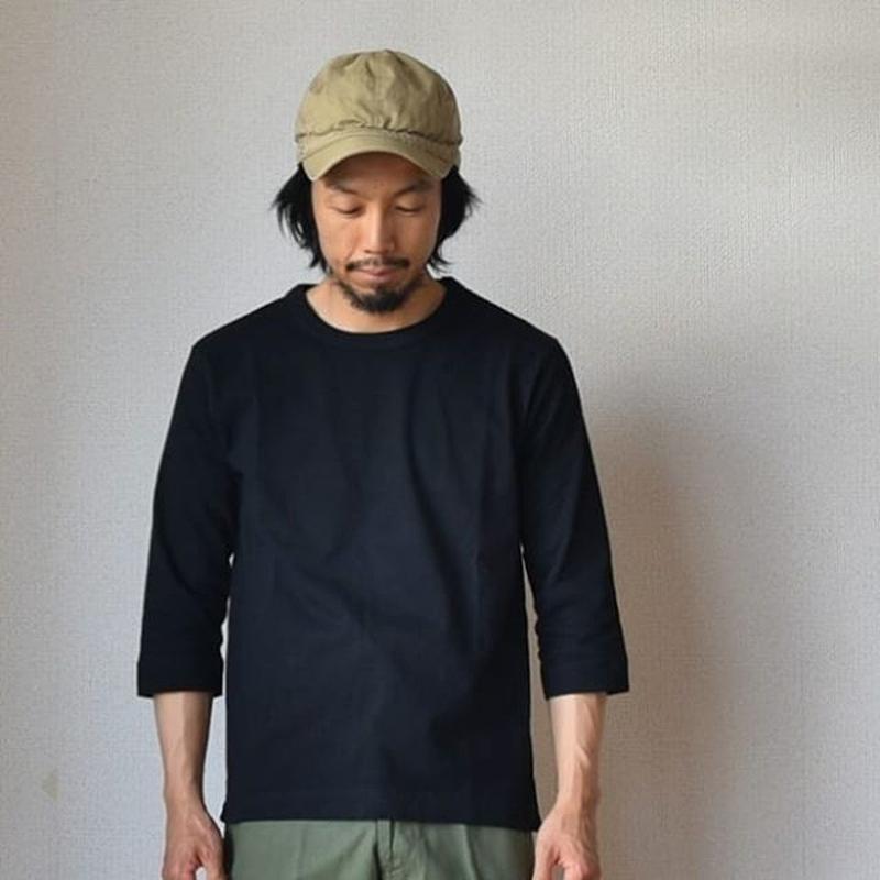 【完売御礼】BETTER  ベター クルーネック七分袖Tシャツ  ホワイト/グレー/ネイビー/ブラック/