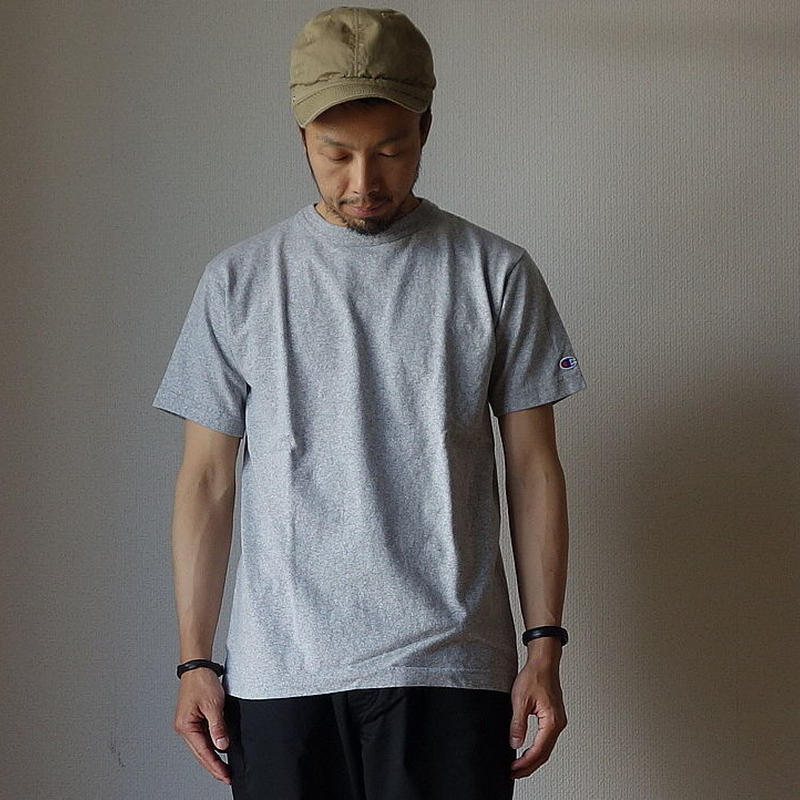Champion チャンピオン T1011 US T-SHIRT  Tシャツ GRY グレー  MADE IN USA アメリカ製