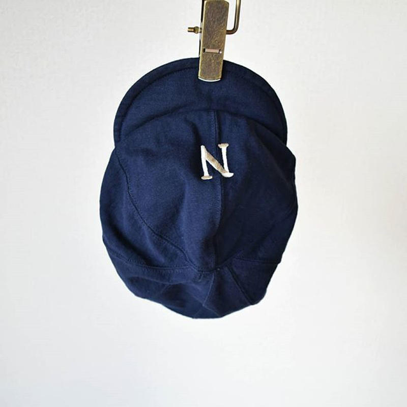 【カットソー仕立てのBBC】Jackman DOTSUME BASEBALL CAP ジャックマン 度詰めベースボールキャップ ネイビー