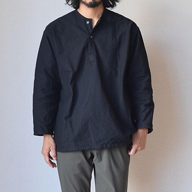 【完売御礼】MILITARY DEADSTOCK  ロシア軍スリーピングシャツ 後染めブラック