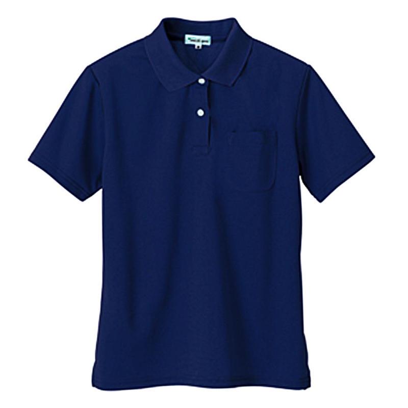 レディース半袖ポロシャツ ロイヤルブルー 10589-108