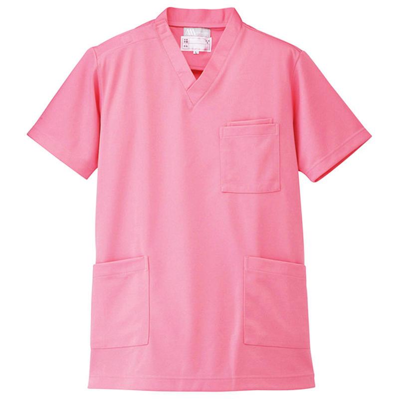 ニットスクラブ(男女兼用)  ピンク 861401-060