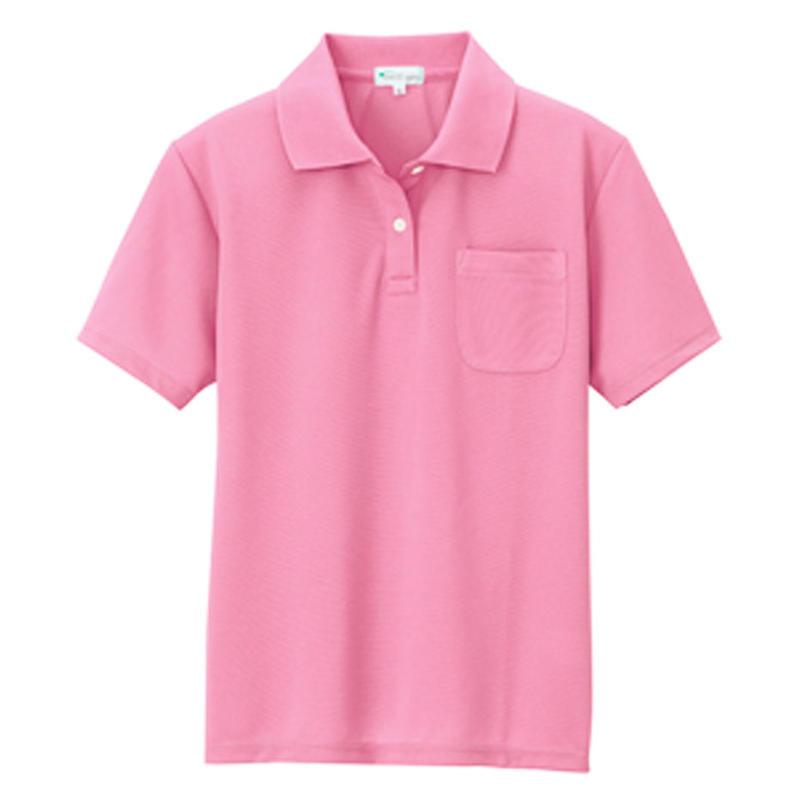 レディース半袖ポロシャツ ピンク 10589-160