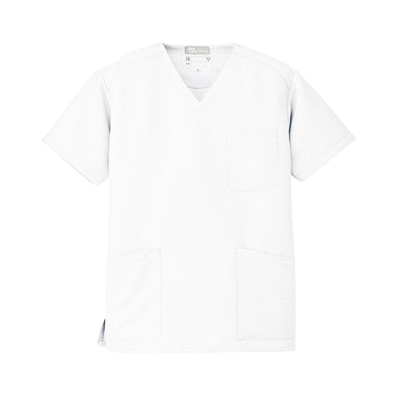 スクラブ(男女兼用)  ホワイト 861405-001