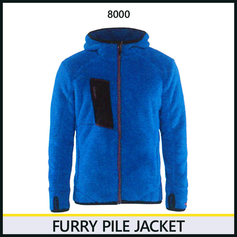 パイルジャケット オーシャンブルー 8218-8000