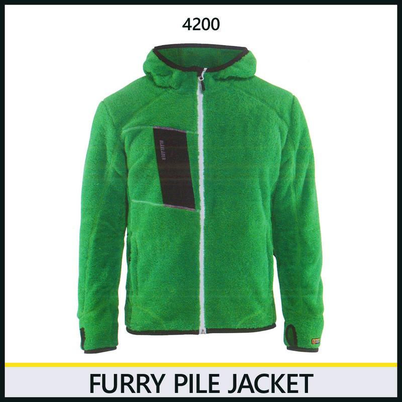 パイルジャケット グリーン 8218-4200