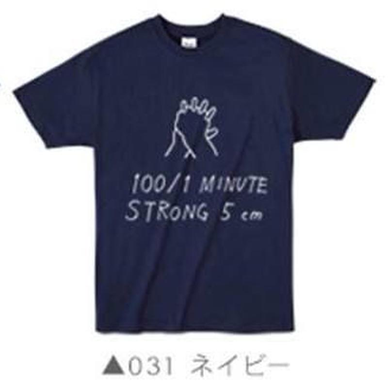 100/1Tシャツ031 ネイビー
