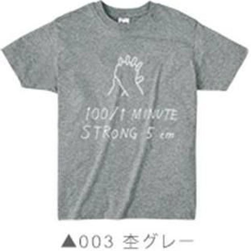 100/1 Tシャツ003 杢グレー