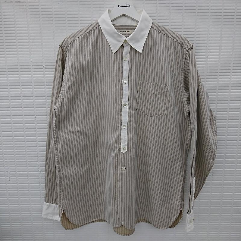 sage de cret(サージュデクレ) ヘリンボーンデザインシャツ L相当(255)