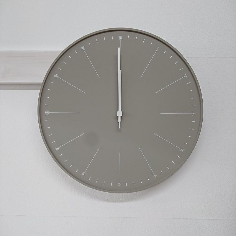 【新品】Lemnos 掛け時計 dandelion(ダンデライオン)(Z3)
