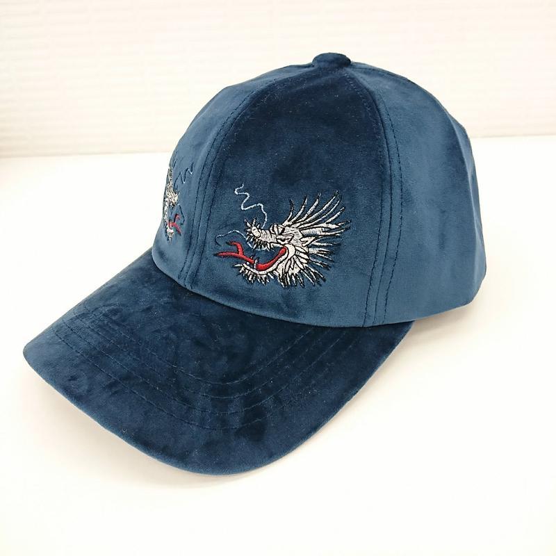 【新品】スカジャンベロア LOW CAP(164)