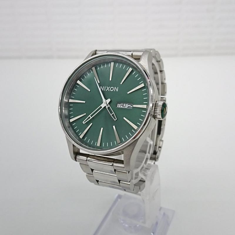 NIXON SENTRY SS GREEN SUNRAY(Wa13)