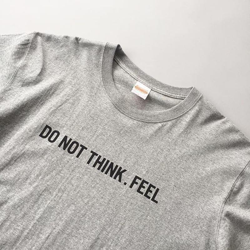-CONNECT- 1st ANNIVERSARRY TEE / DO NOT THINK . FEEL / コネクト1周年記念Tシャツ / 考えるな。感じろ!