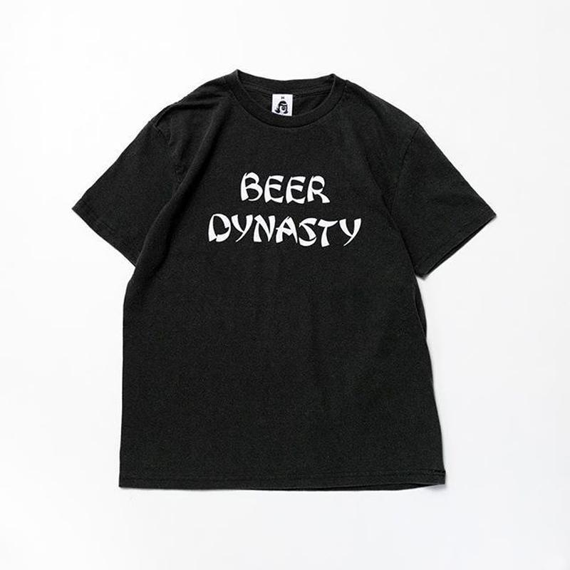 TACOMA FUJI RECORDS / BEER DYNASTY designed by Noriteru Minezaki ((studio)) / BLACK / タコマフジ / ブラック