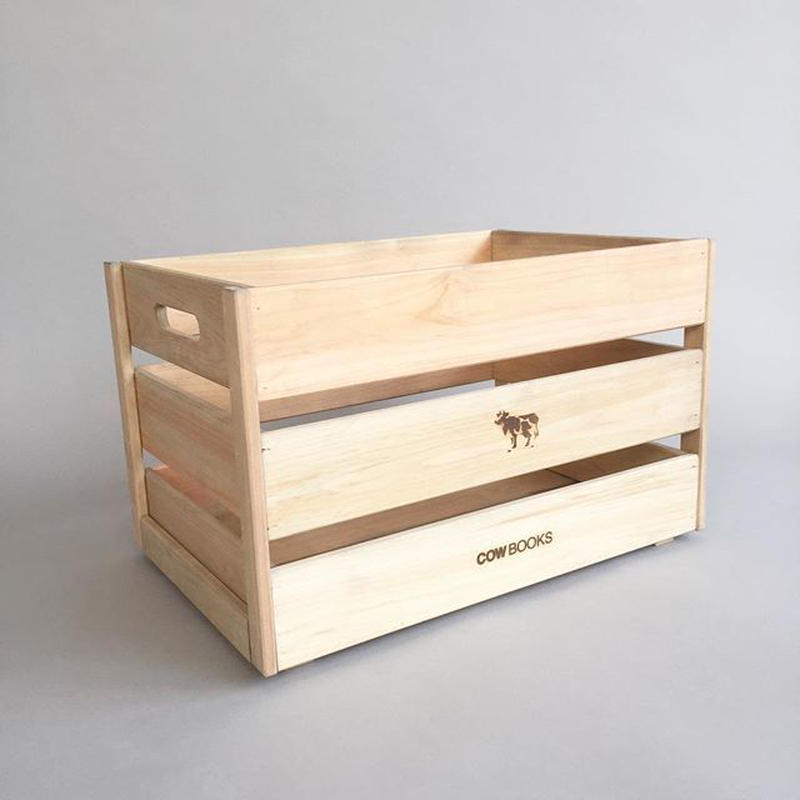 COWBOOKS / WOOD BOX / STACKING / LARGE /カウブックス / ウッドボックス / スタッキング / 大