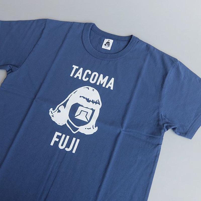 TACOMA FUJI RECORDS / LOGO MARK '18 DESIGNED BY JERRY UKAI / NAVY / タコマフジ / ジェリー鵜飼 / ネイビー