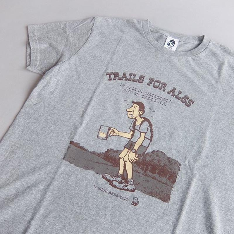 TACOMA FUJI RECORDS / TRAILS FOR ALES designed by Jerry UKAI / GRAY / タコマフジ / ジェリー鵜飼 / グレー