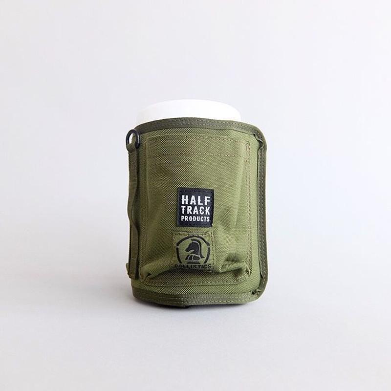 HALF TRACK PRODUCTS × BALLISTICS / WET COVER POCKET / ハーフトラックプロダクツ × バリスティックス / ウェットカバーポケット / オリーブ