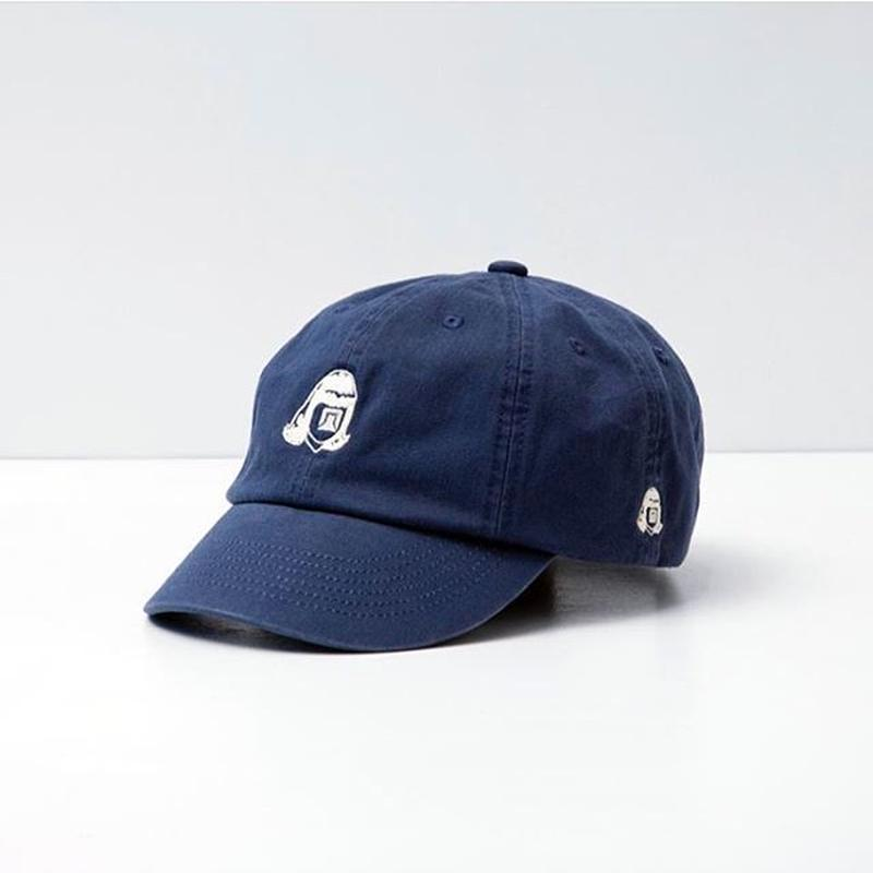TACOMA FUJI RECORDS / TACOMA FUJI LOGO HERRINGBONE CAP / NAVY / タコマフジ / ネイビー