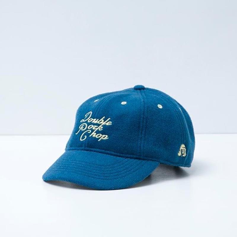 TACOMA FUJI RECORDS / DOUBLE PORK CHOP CAP designed by Jerry UKAI / BLUE / タコマフジ / ジェリー鵜飼 / ブルー