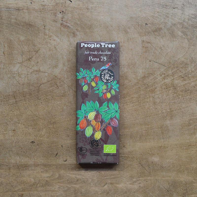 フェアトレード・チョコレート / ペルー75