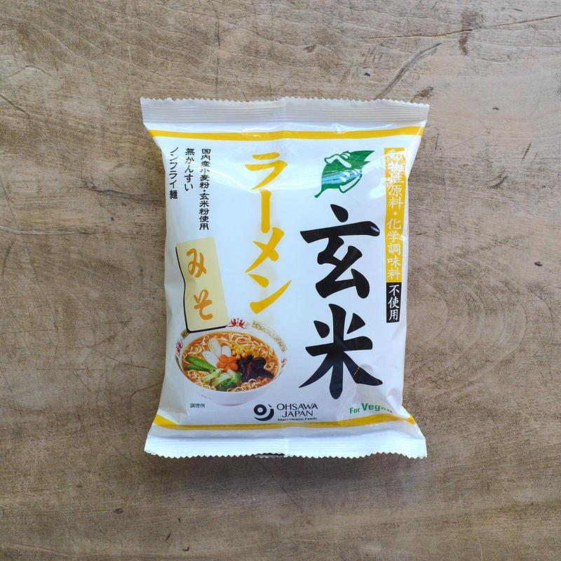 オーサワ / ベジ玄米ラーメン(みそ)
