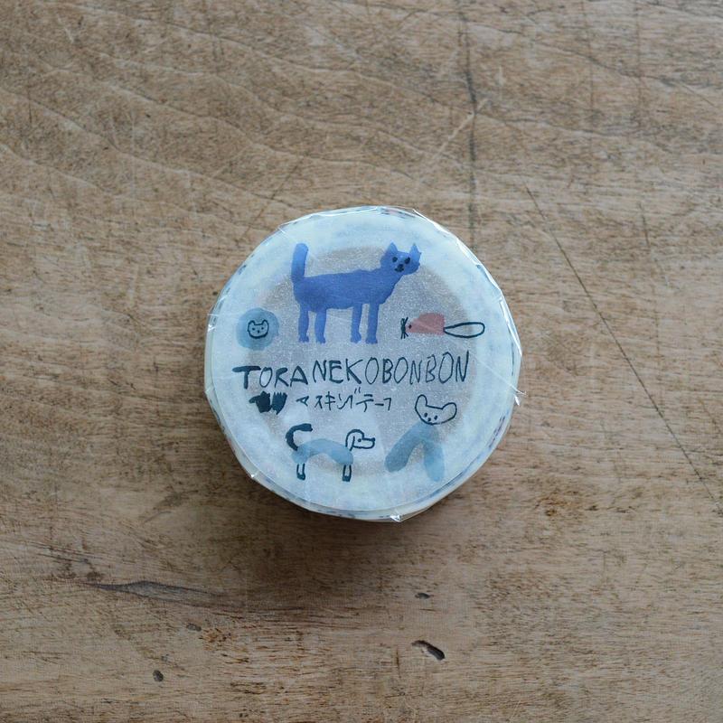 トラネコボンボン / マスキングテープ D・1巻パック