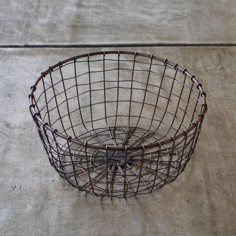 ラウンドバスケット(大)