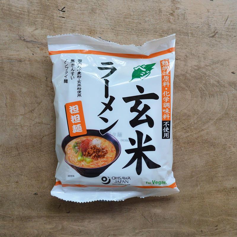 オーサワ / ベジ玄米ラーメン(担担麺)