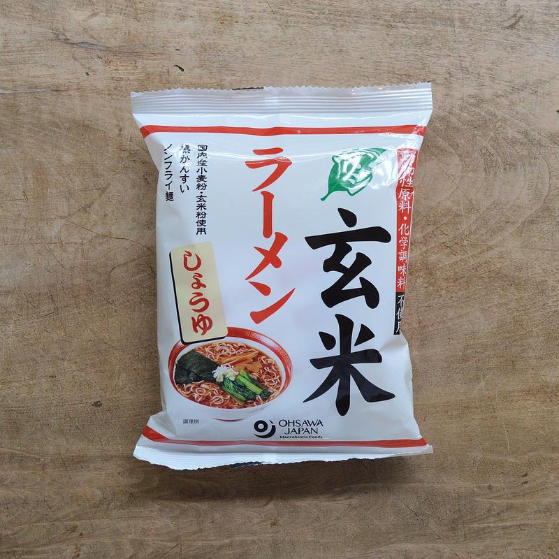 オーサワ / ベジ玄米ラーメン(しょうゆ)