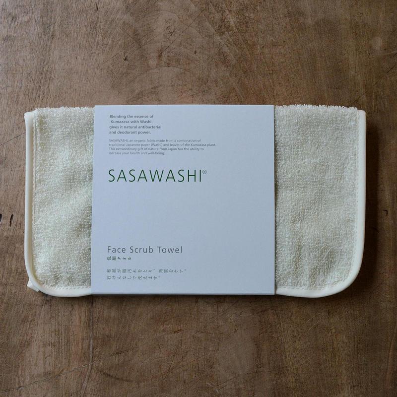 ささ和紙 洗顔タオル