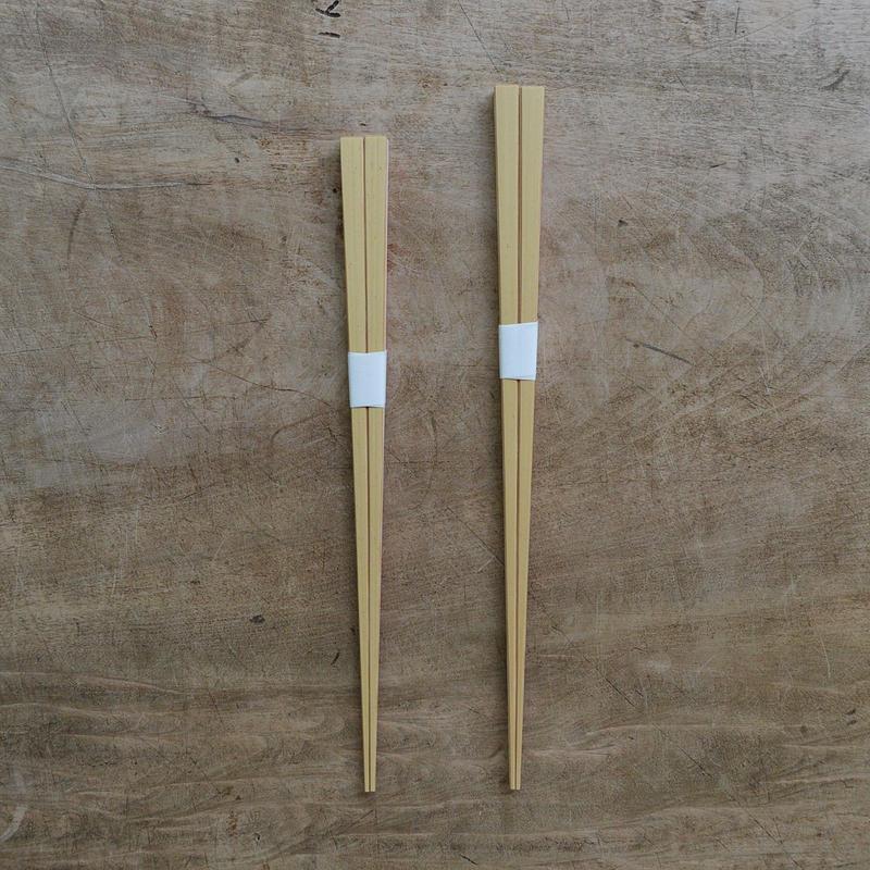 四角箸(白竹)