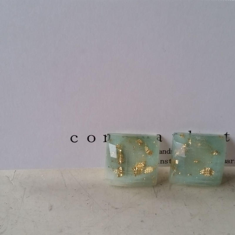 earrings アクア 180704/e-7