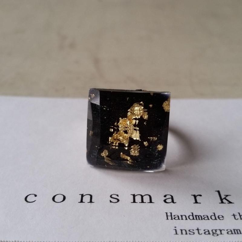 ring ブラック 180703/r-1