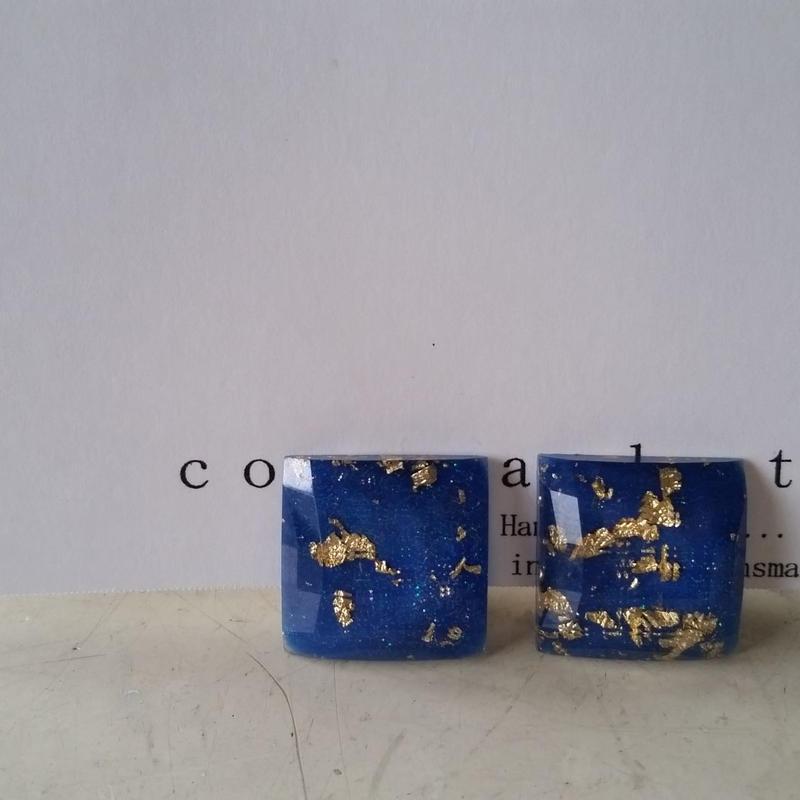 earrings bulue 180704/e-6
