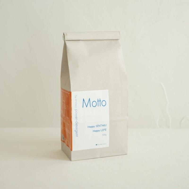 洗浄力増強粉末洗濯洗剤 Motto-モット- 500g