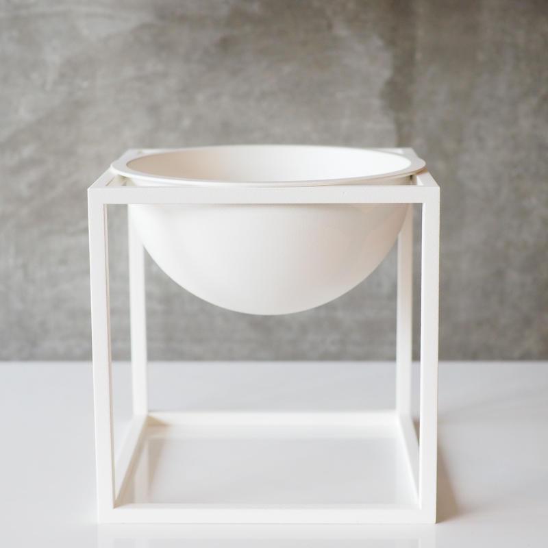 Kubus Bowl Small / White【by lassen】