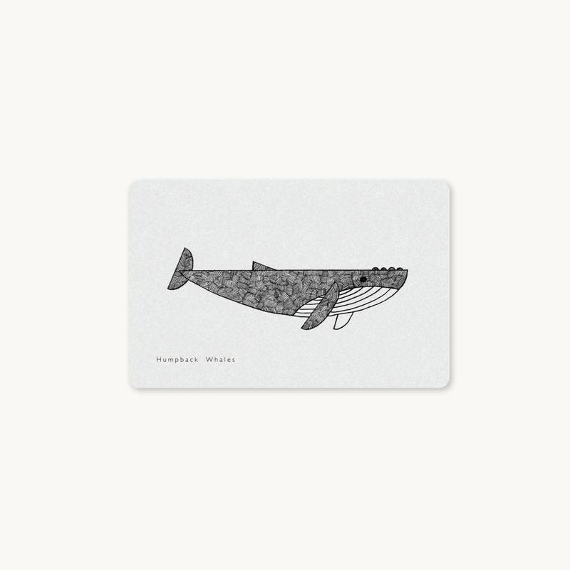 クジラICカードステッカー