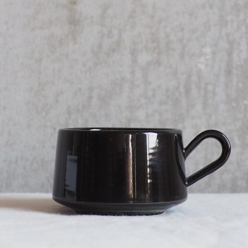 Daily MUG # black【3rd ceramics】