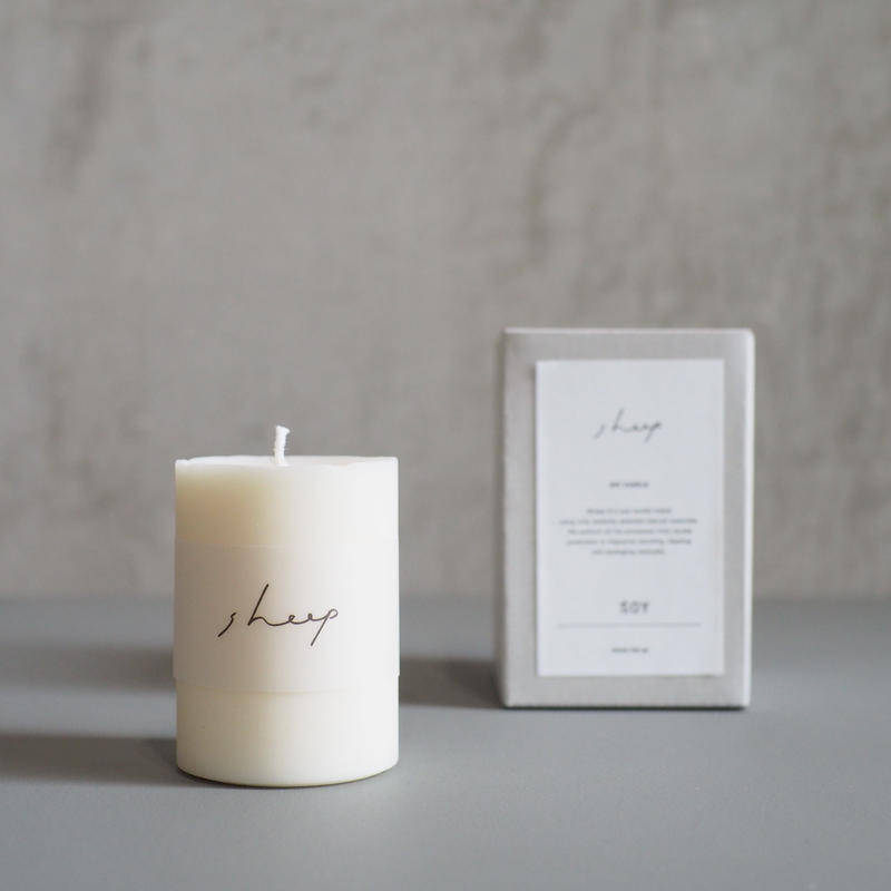 SOY CANDLE /SOY  SS【SHEEP】