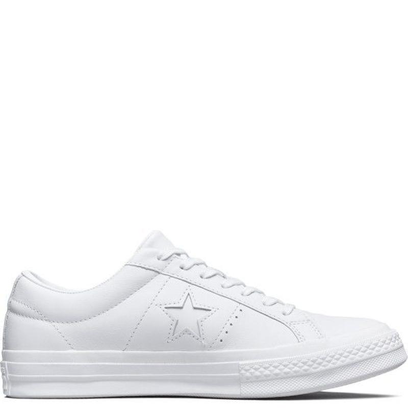 ONE STAR WHITE LEATHER 162884C
