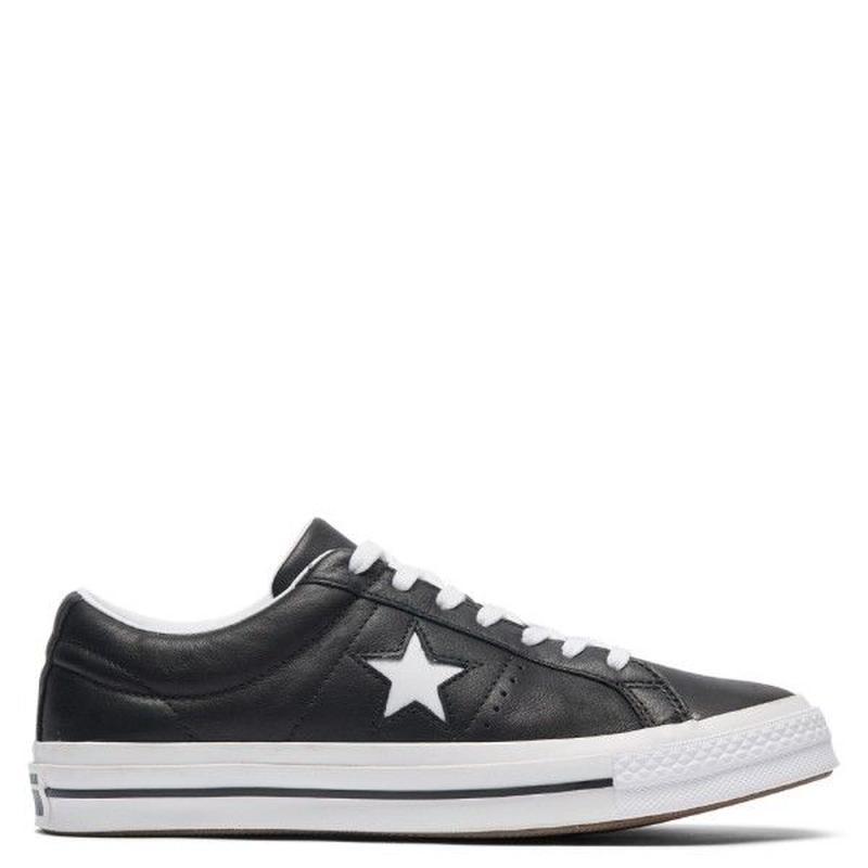 ONE STAR BLACK LEATHER 163385C
