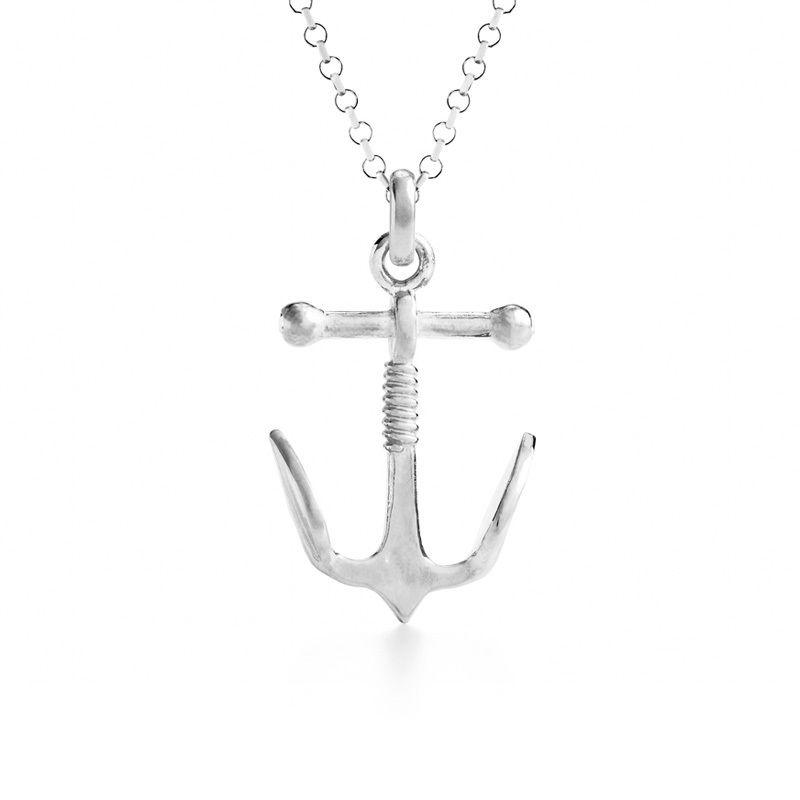 Anchor Charm Silver
