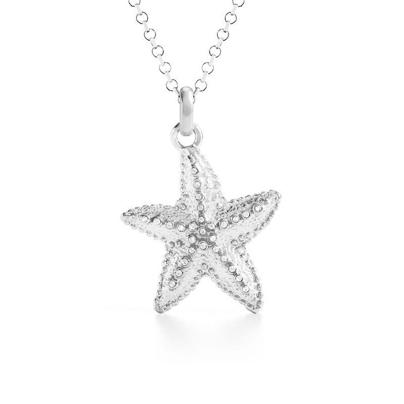 Sea Star Charm Silver